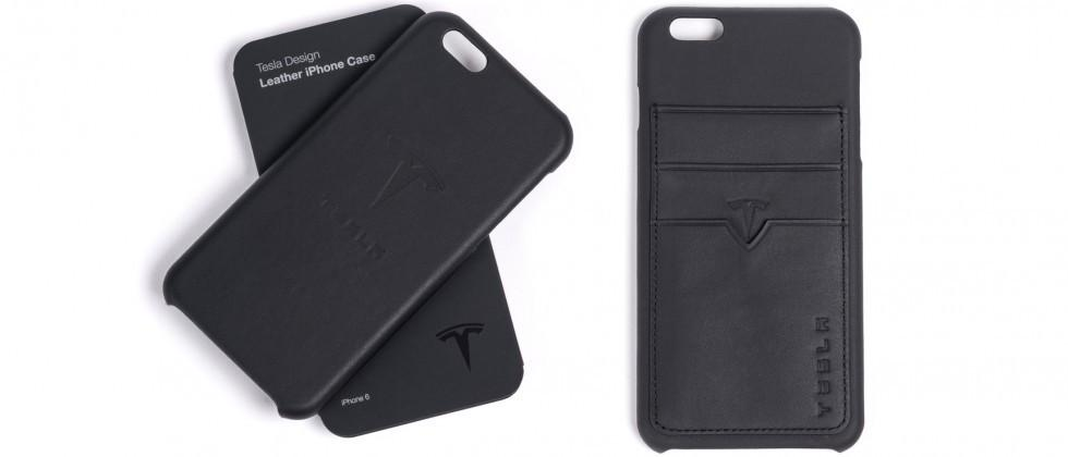 Tesla now sells leather iPhone cases made from leftover upholstery