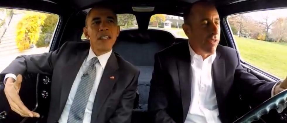 Here's Obama in Comedians in Cars Getting Coffee
