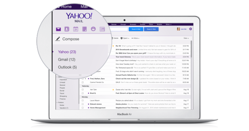 Yahoo wants you to use Gmail inside Yahoo Mail