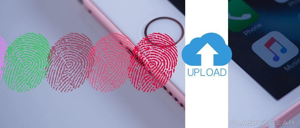 Apple patents fingerprint uploads and cloud storage