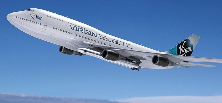 """Virgin Galactic adds """"Cosmic girl"""" 747-400 jet to fleet"""