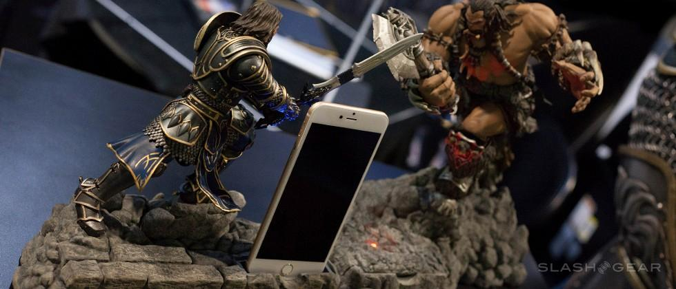 Swordfish World of Warcraft mobile accessories up close and epic
