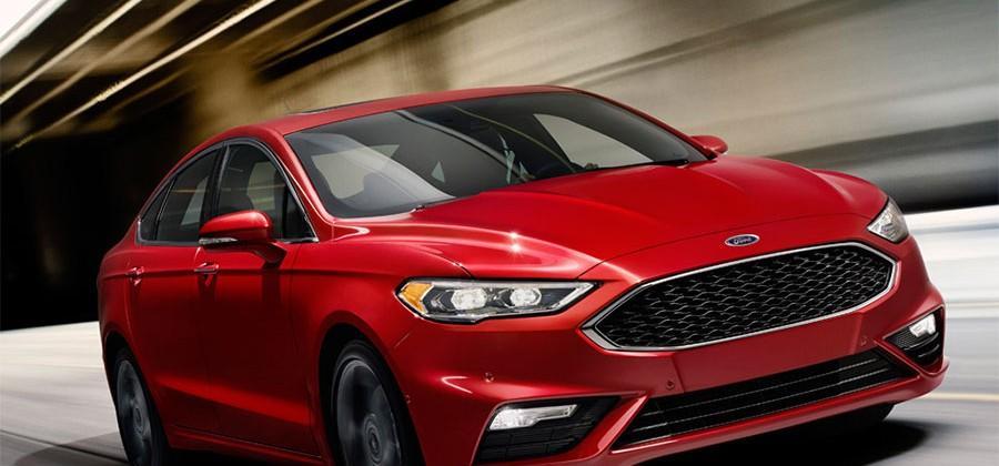 2017 Ford Fusion V6 Sport offers 325hp 2.7L EcoBoost V6