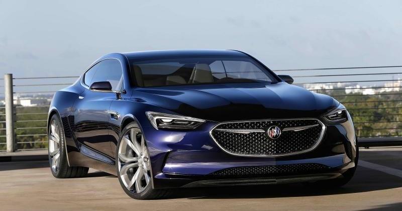 Buick Avista concept is a rear wheel drive grand tourer