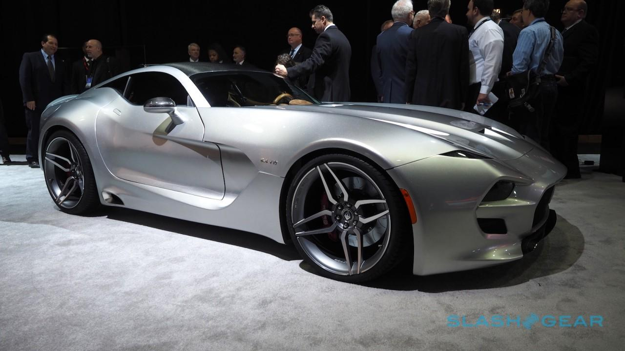 The looks of a Fisker but the heart of a V10 monster. This super-exclusive coupe wants to take on Bentley