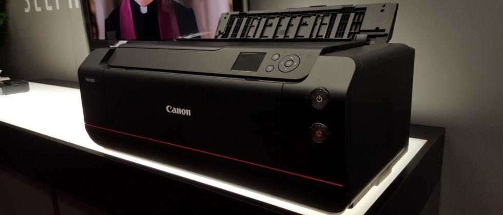 Canon imagePROGRAF PRO-1000 boasts new tech all around
