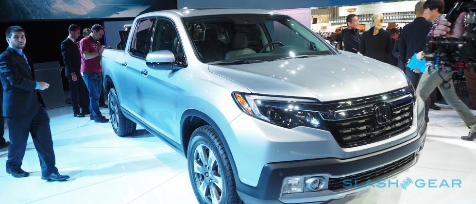 It's here: the next-generation 2017 Honda Ridgeline