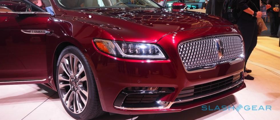 2017 Lincoln Continental gives classic name to modern luxury