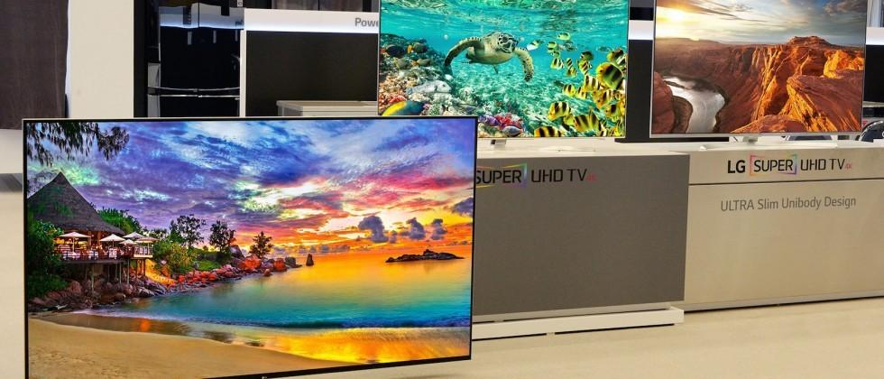 LG starts CES 2016 big with 98-inch 8K TV and more