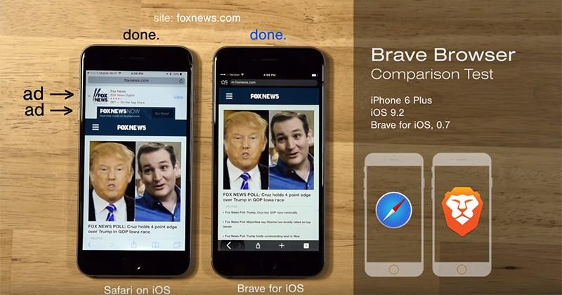 """""""Brave"""" new browser wants to profit from every site you visit"""