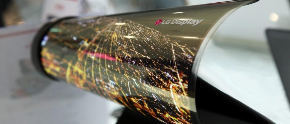 LG Display brings rollable OLED newspaper to CES 2016