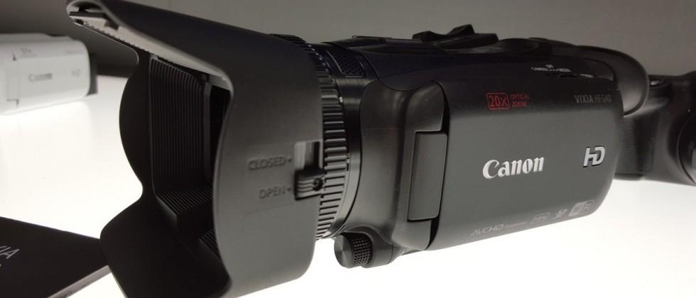 Canon VIXIA HF G40 camcorder hands-on: video for the prosumer