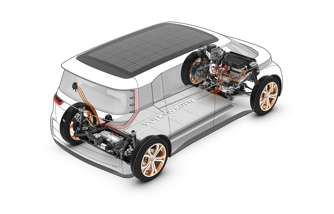 Volkswagen BUDD-e Concept Is A Glimpse At Tomorrow's