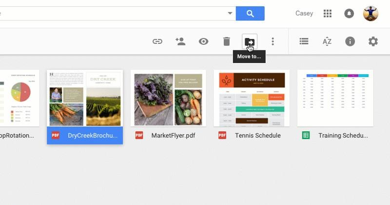 Google Drive gets easier to organize