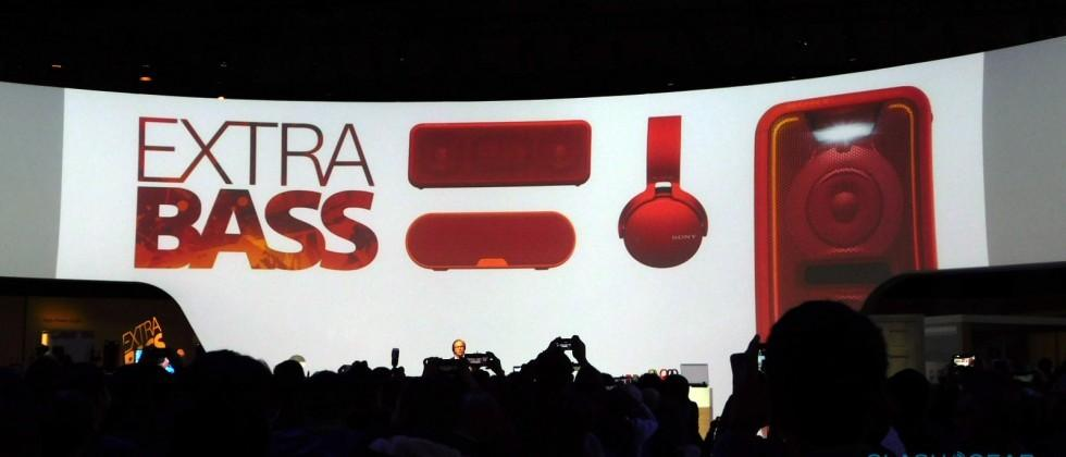 Sony Extra Bass line expands with new speakers, headphones