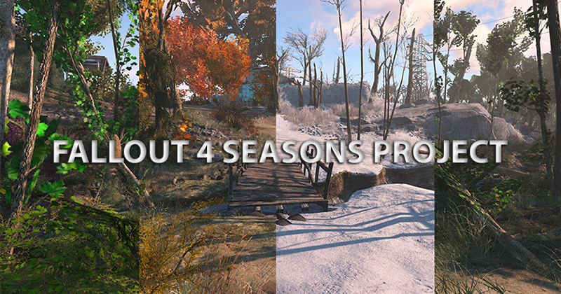 Fallout 4 mod adds seasons to the game
