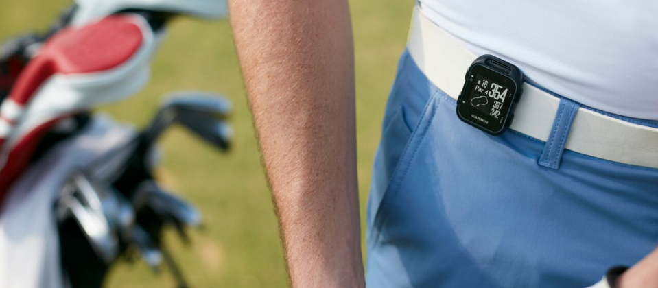 Garmin Approach S20 is latest wearable for golfers