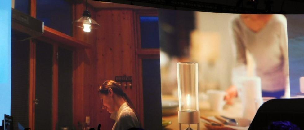 Sony Glass Sound Speaker doubles as classy light