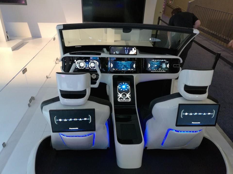 Panasonic Advance Cockpit 2020