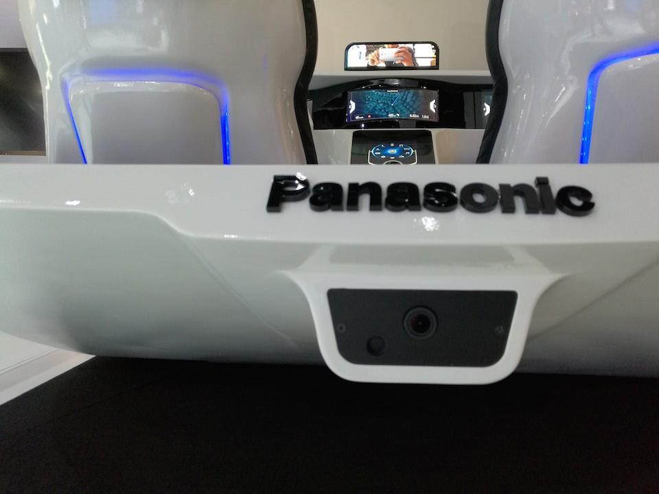Panasonic Advance Cockpit 2020 Smart Mirror