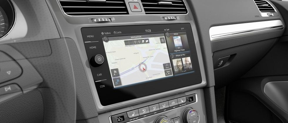Volkswagen e-Golf Touch Shows Off Upcoming VW Infotainment Upgrades
