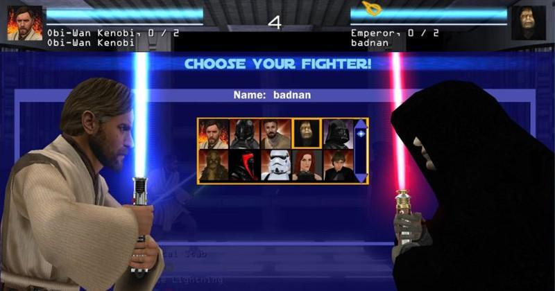 Mod turns Jedi Academy into a 1v1 Star Wars fighting game