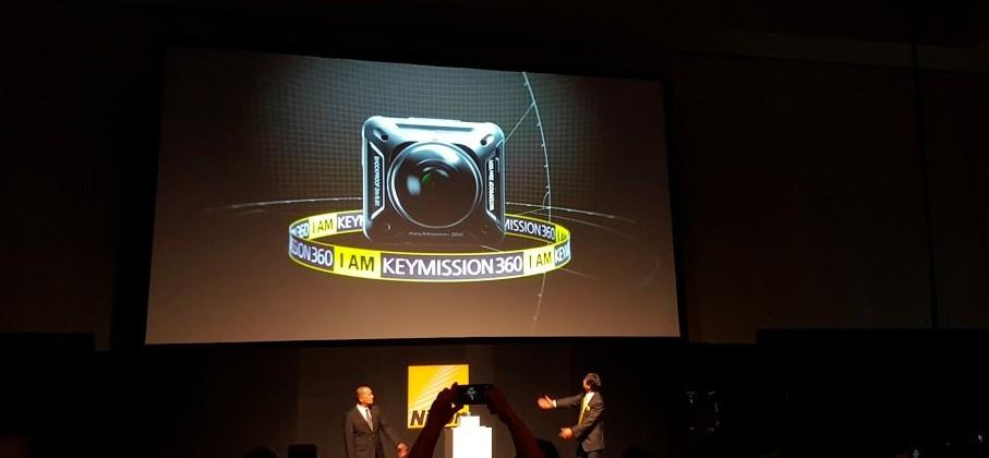 Nikon joins action cam market with KeyMission 360 camera