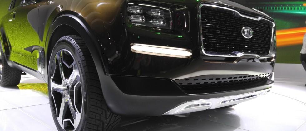 Kia Telluride concept is a health-conscious luxury SUV