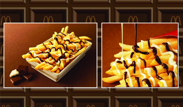 McDonald's new fries in Japan are covered in chocolate