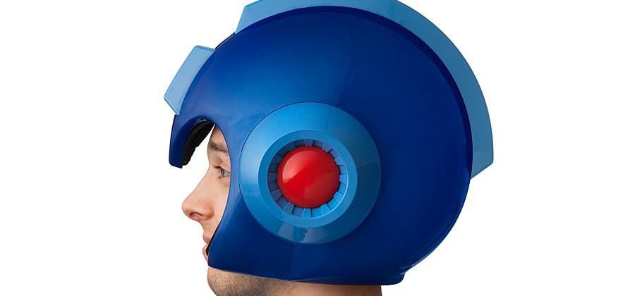 Mega Man helmet is wearable, features LED lights