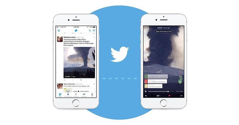 Periscope broadcasts now play instantly on Twitter