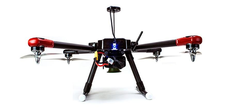 ProHawk UAV is a modern flying scarecrow