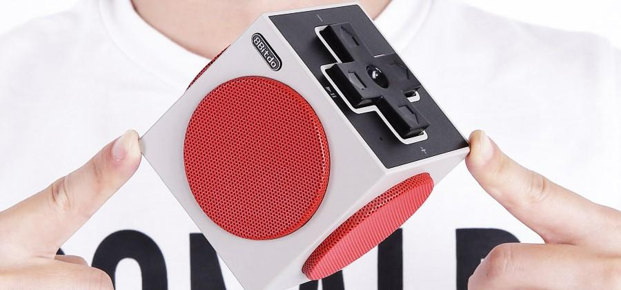 8Bitdo Retro Cube Speaker is inspired by NES controller