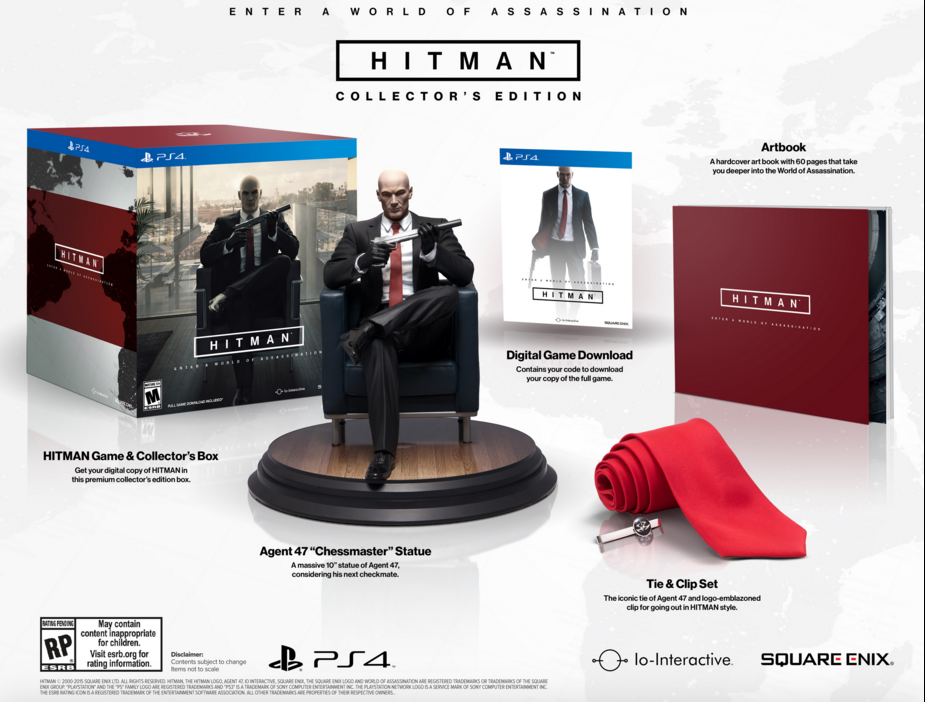 Hitman Collector S Edition Unveiled Pre Order To Arrive Soon Slashgear