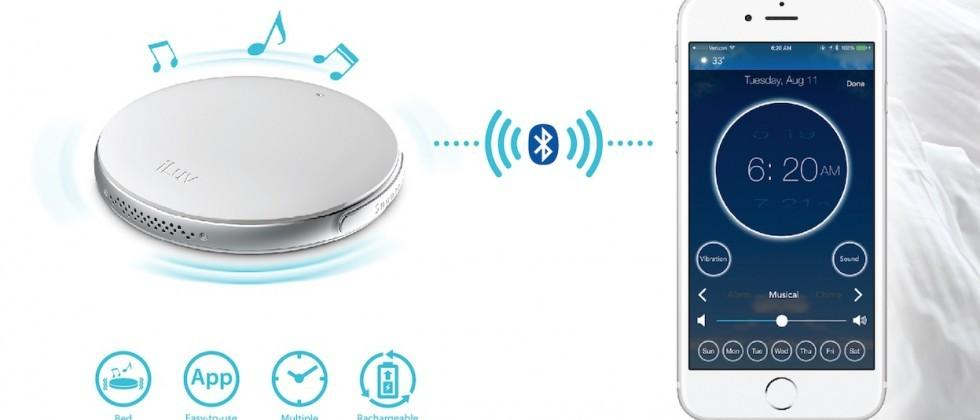 iLuv debuts an alarm clock that can vibrate your pillow