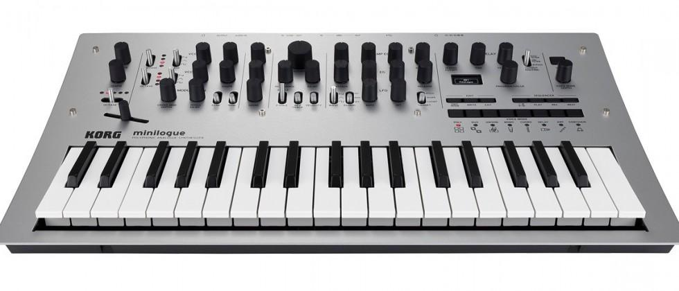 Korg Minilogue has affordable analog appeal