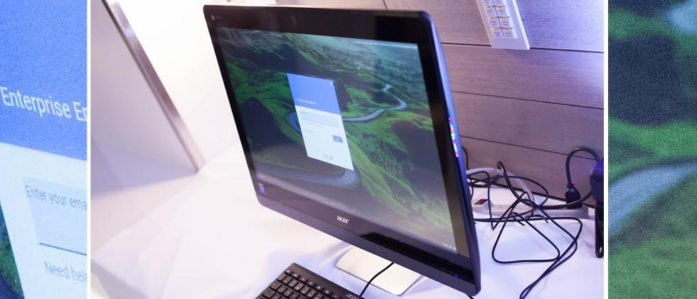 Acer Chromebase 24 hands-on: big time Chrome OS