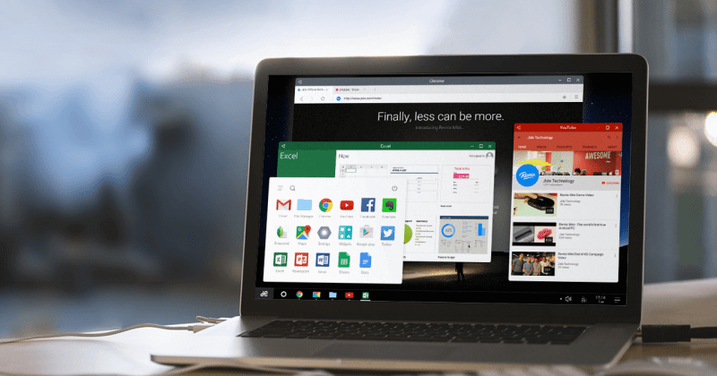 Remix OS to bring desktop-like Android to PCs, Macs on Jan. 12