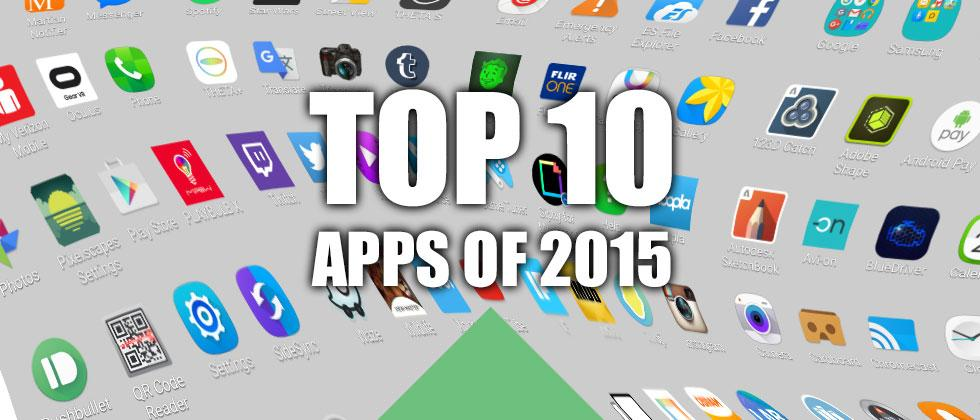 Here are the top 10 apps of 2015 (most downloaded, most used)