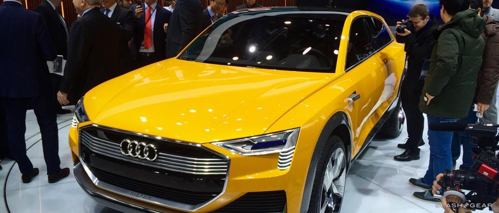 Audi H-Tron Quattro concept up close and personal