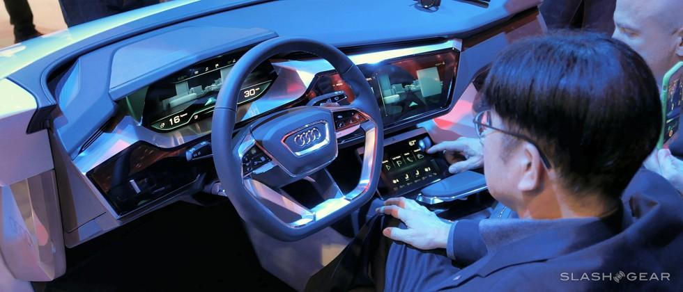 Audi Virtual Dashboard Highlights CES Presentation