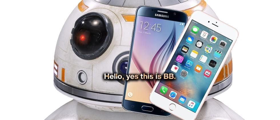 Star Wars: The Force Awakens BB-8 ringtone downloads movie-accurate