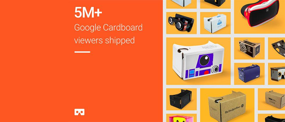 5-million+ Google Cardboard VR headsets now in the wild