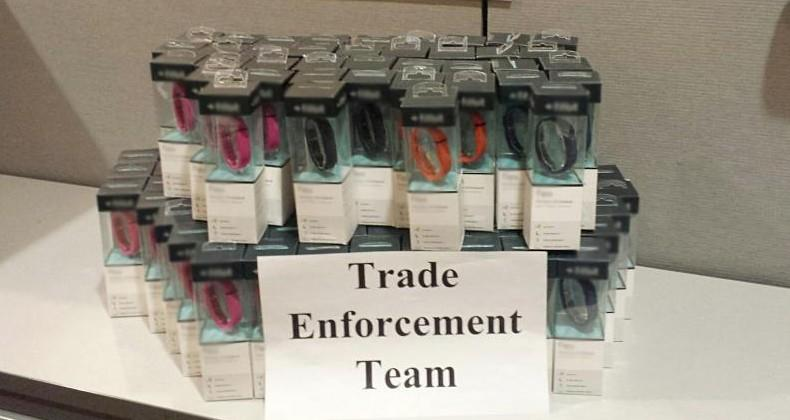 U.S. Customs seizes cache of counterfeit wearables
