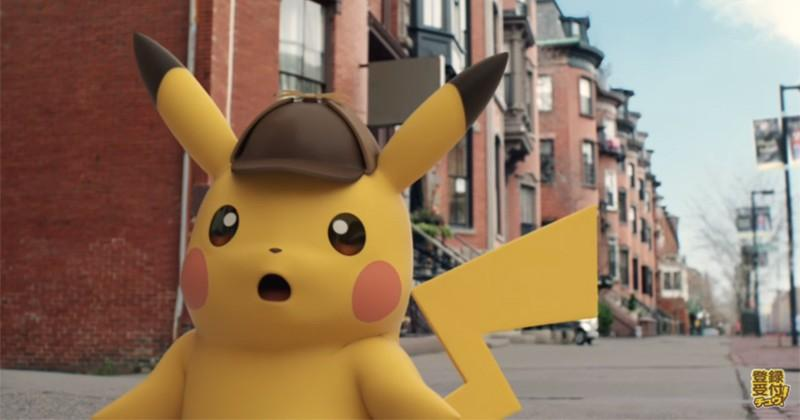 Pikachu turns detective on 3DS, freaks me out just a bit