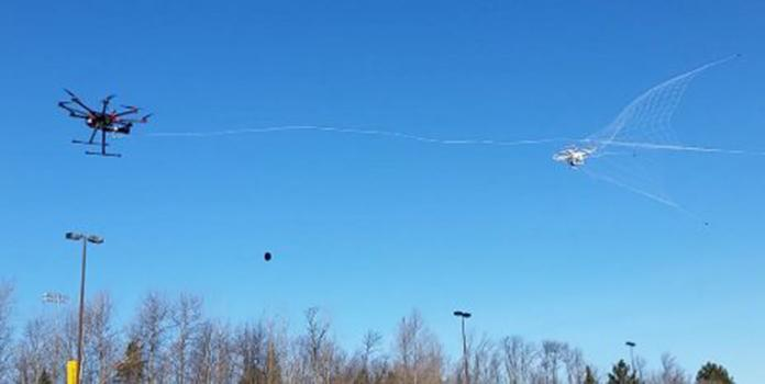 New safety tool nabs wayward drones out of the sky