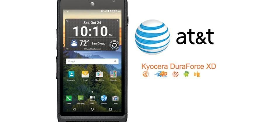 Kyocera DuraForce XD and DuraXE rugged smartphones land at AT&T