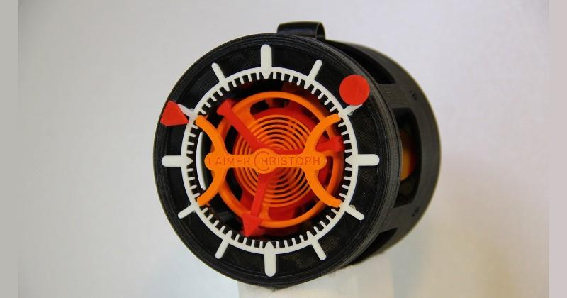 3D printing and horology meet in an actual working watch