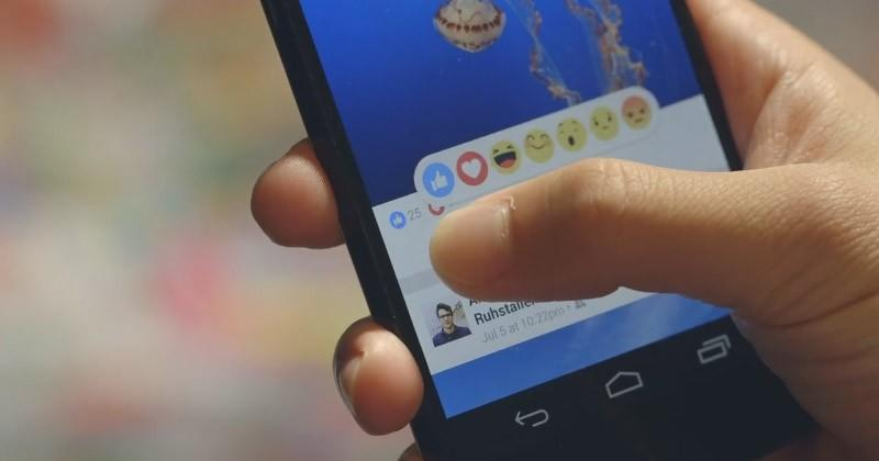 """Facebook gets 5 new emoji to compliment the """"like"""" button"""
