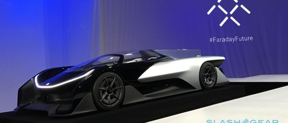 Faraday Future FFZERO1 concept teases modular EV car